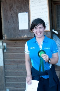 Amy Receiving her 4th Rosette